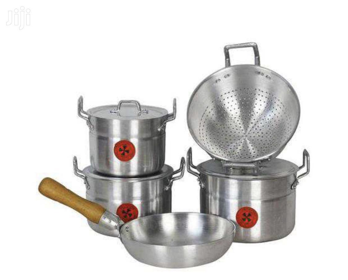 5 Set Aluminum Cooking Utensil