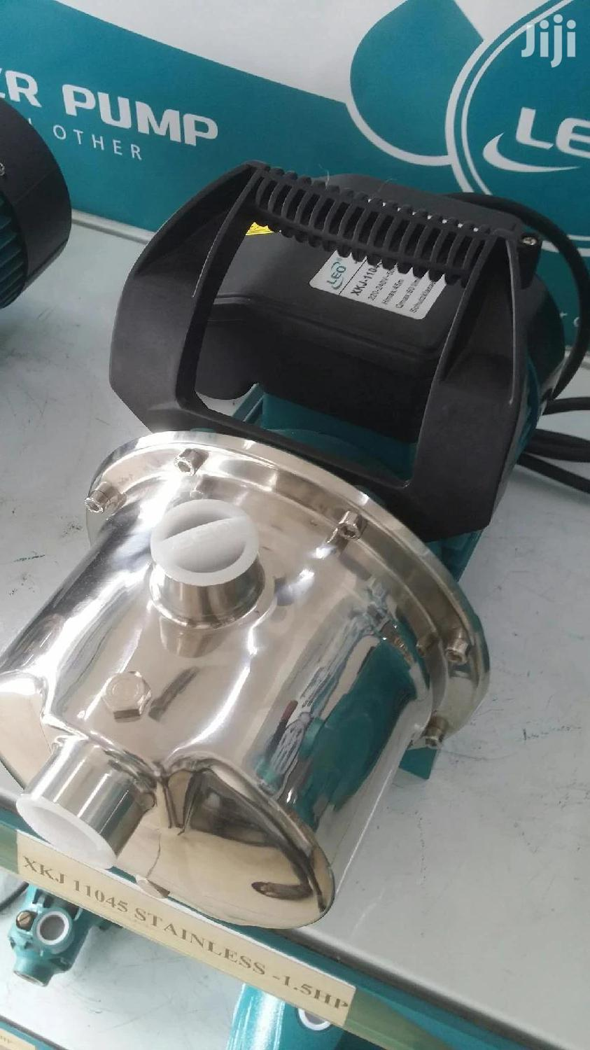 Stainless 1.5hp Leo Pump