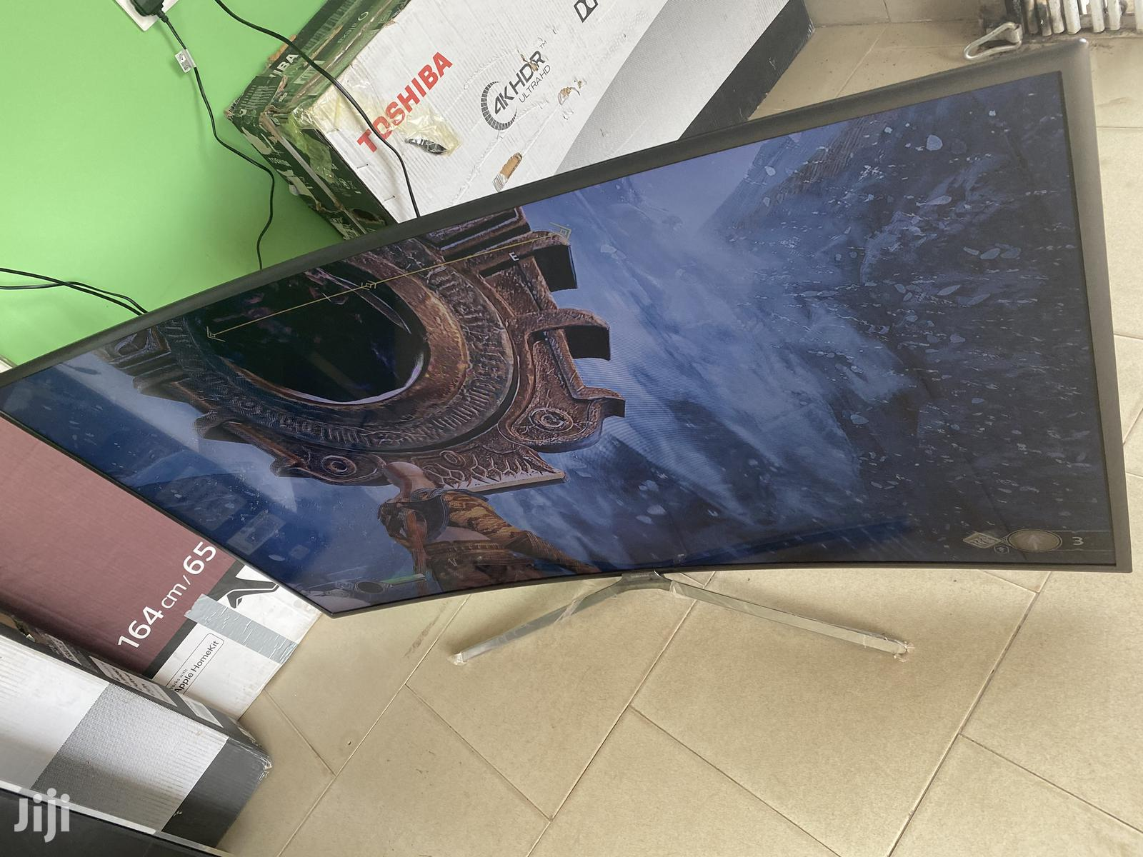 55 Inches Smart Samsung Curved Tv For Sale