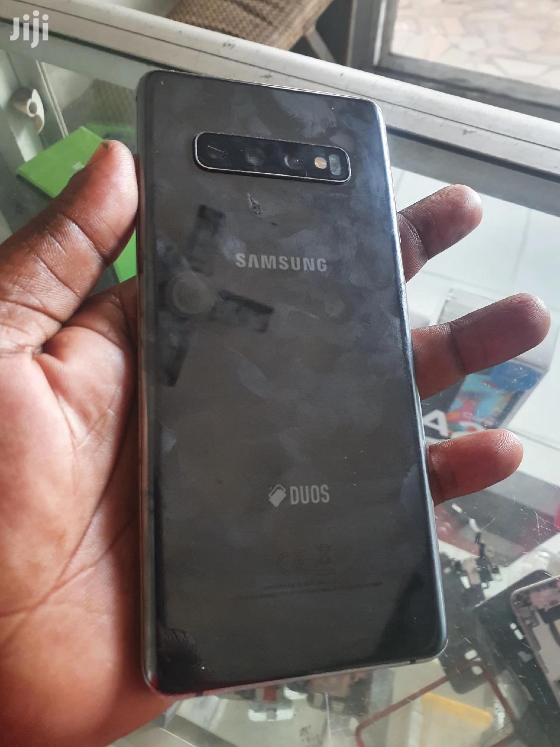 Samsung Galaxy S10 Plus 128 GB Black   Mobile Phones for sale in Achimota, Greater Accra, Ghana