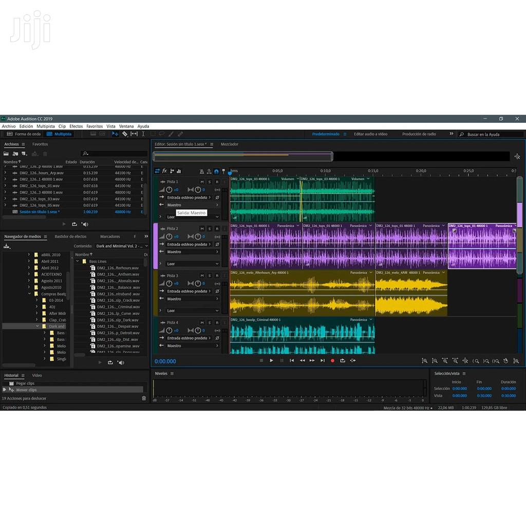 Adobe Audition CC 2020 Full | Software for sale in Achimota, Greater Accra, Ghana
