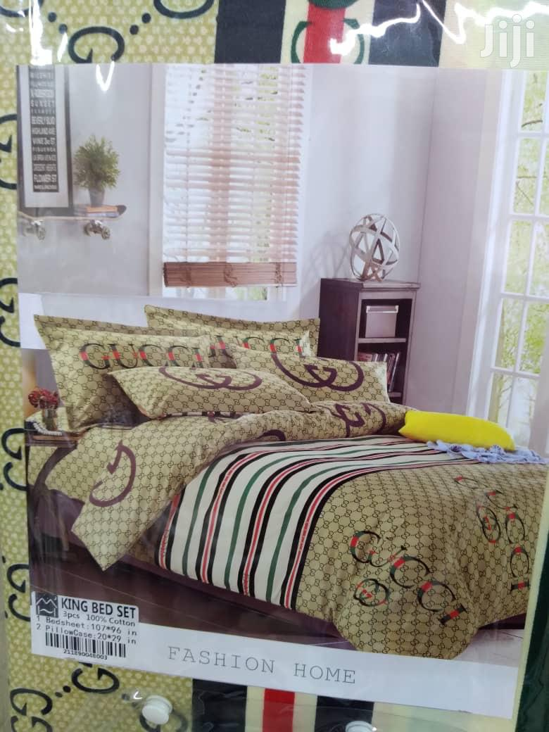 Archive: 3pcs Bedsheets; King Queen Bedsheets