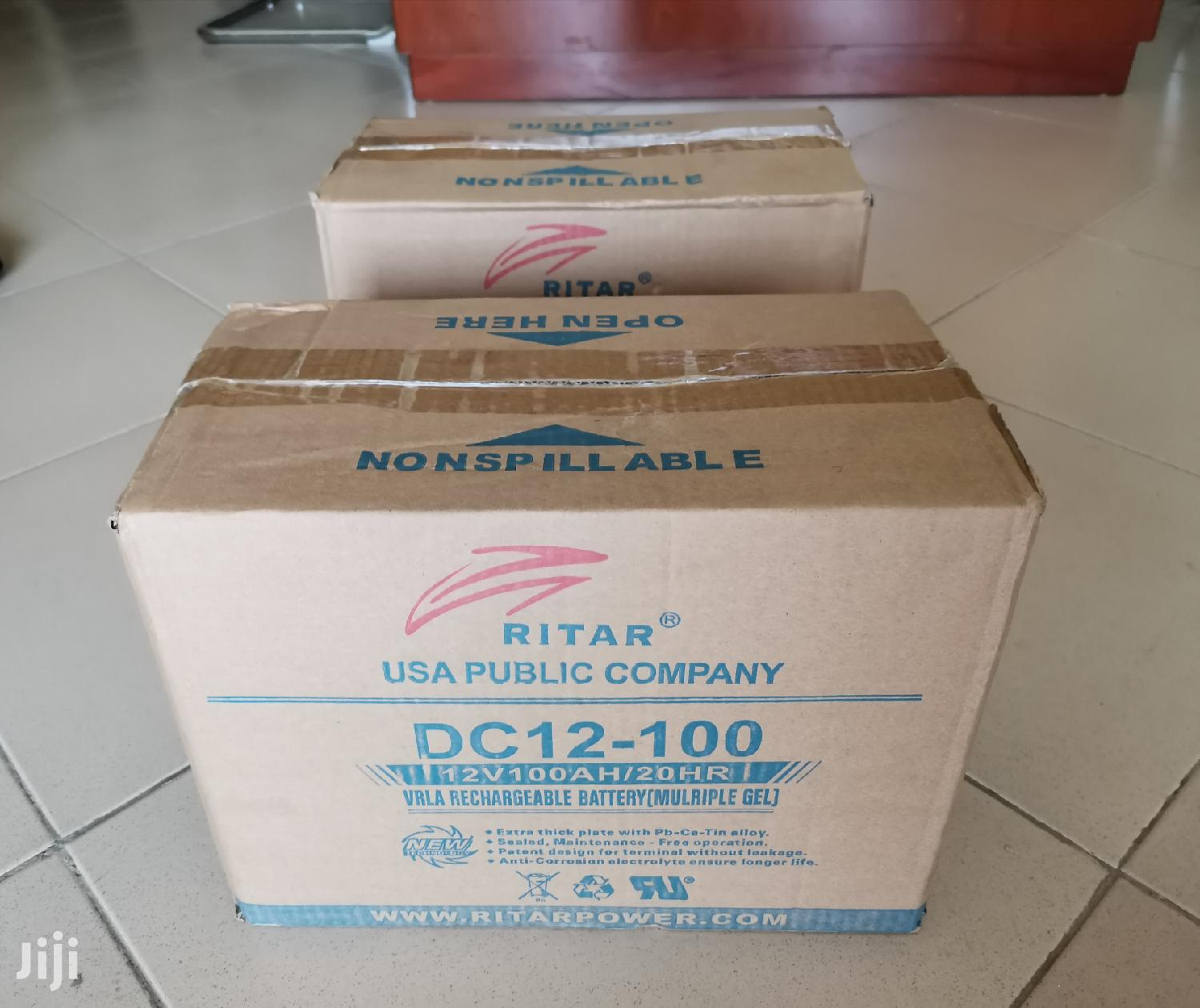 12v 100ah Solar Battery | Solar Energy for sale in Accra Metropolitan, Greater Accra, Ghana