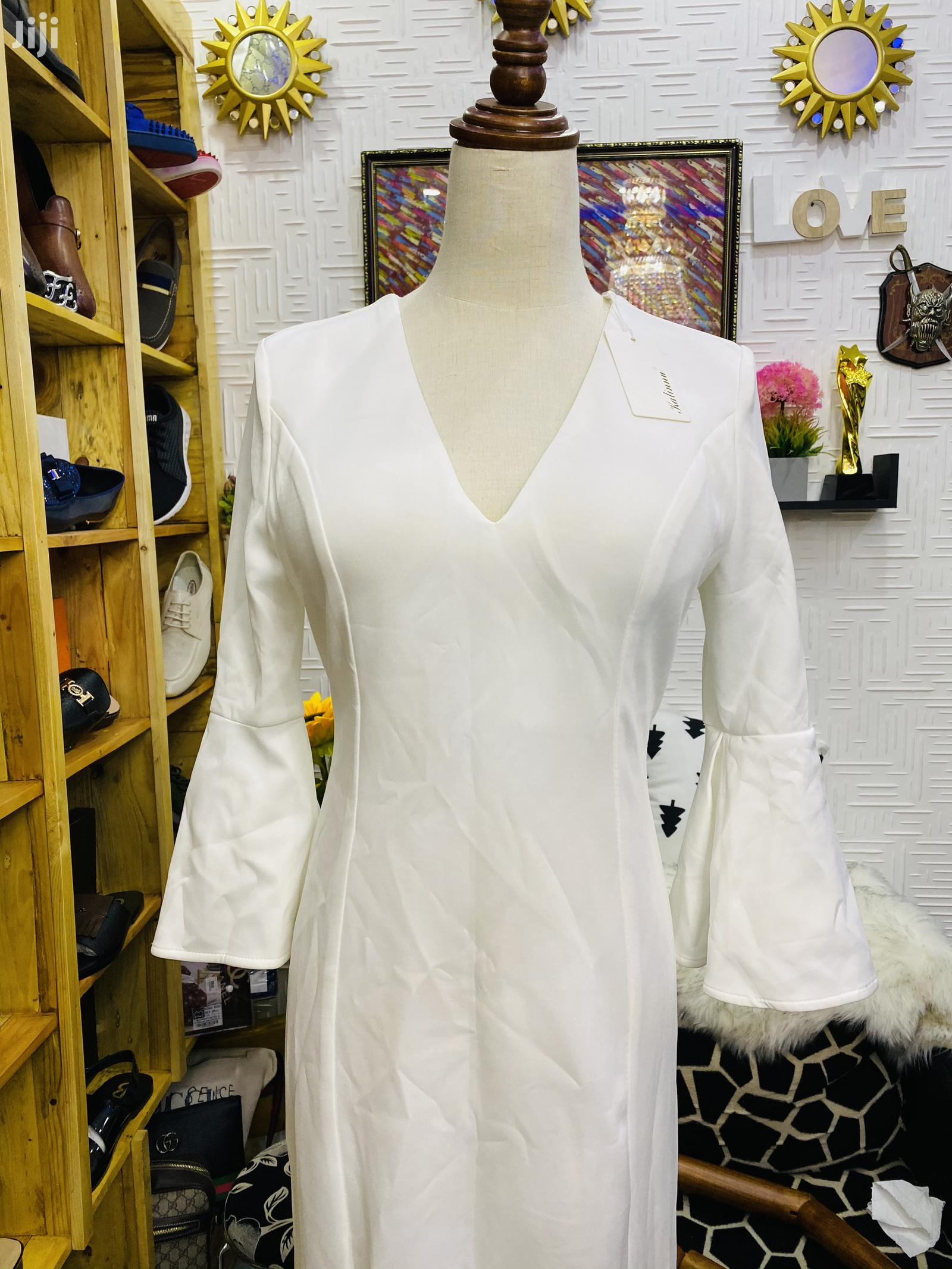White Long Dress | Clothing for sale in East Legon, Greater Accra, Ghana