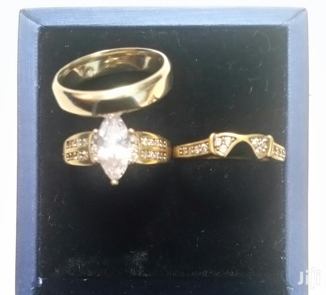 3set Alluvial Gold Wedding Rings   Wedding Wear & Accessories for sale in Darkuman, Greater Accra, Ghana
