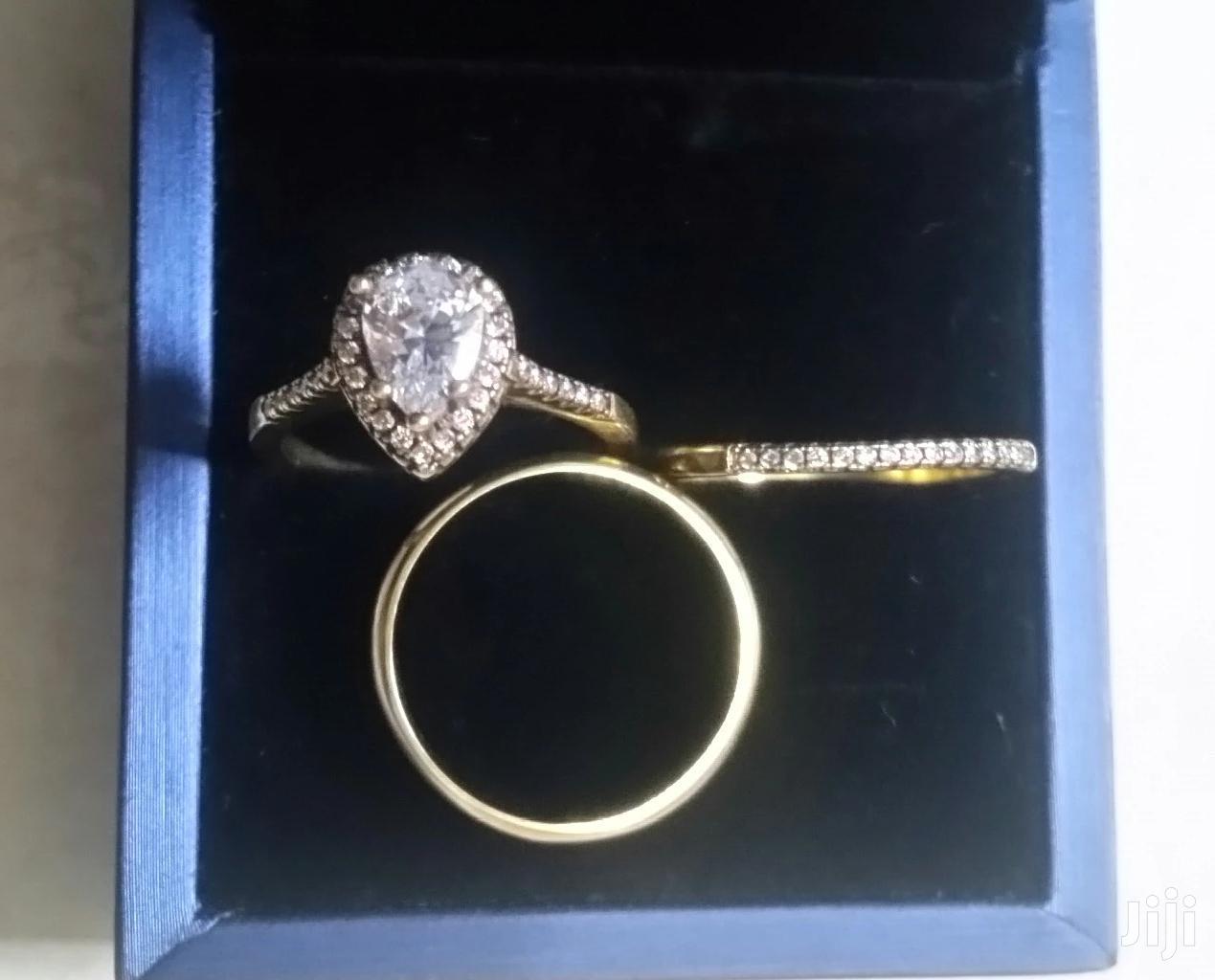 3set Alluvial Gold Wedding Rings