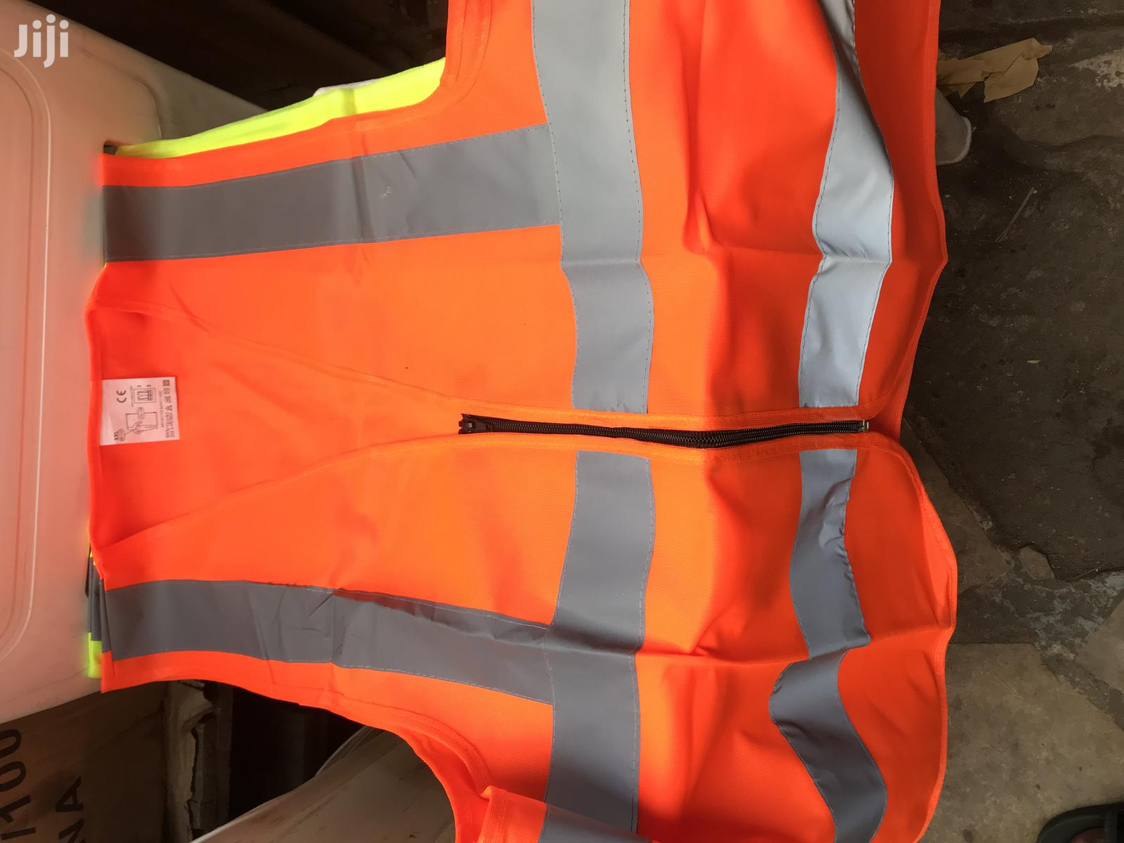 Archive: Safety Reflective Vest With Zip