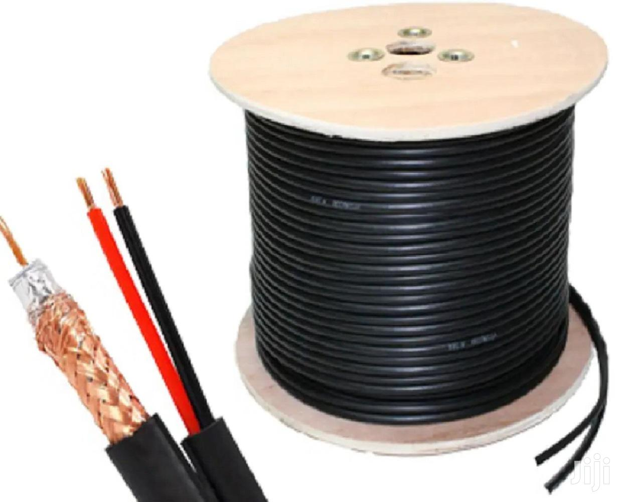 Coaxial Cable (PM-RG100) With Power
