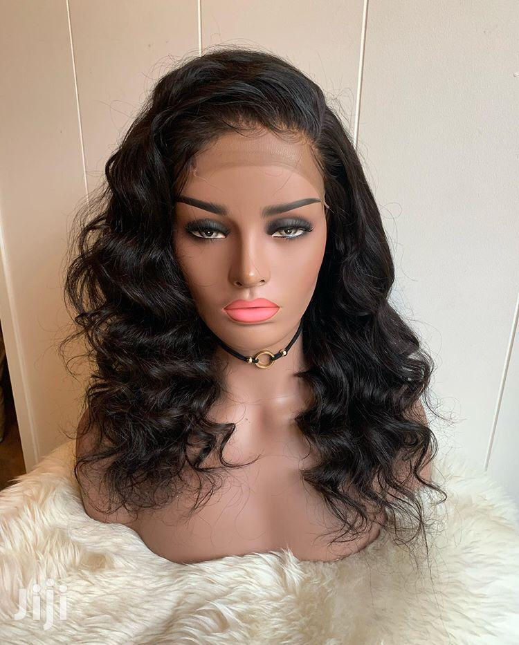14 Inches Indian Remy Virgin Human Hair Wig Cap