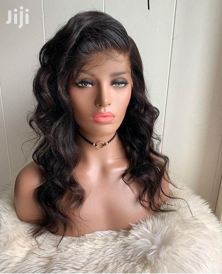 14 Inches Indian Remy Virgin Human Hair Wig Cap   Hair Beauty for sale in Ga South Municipal, Greater Accra, Ghana