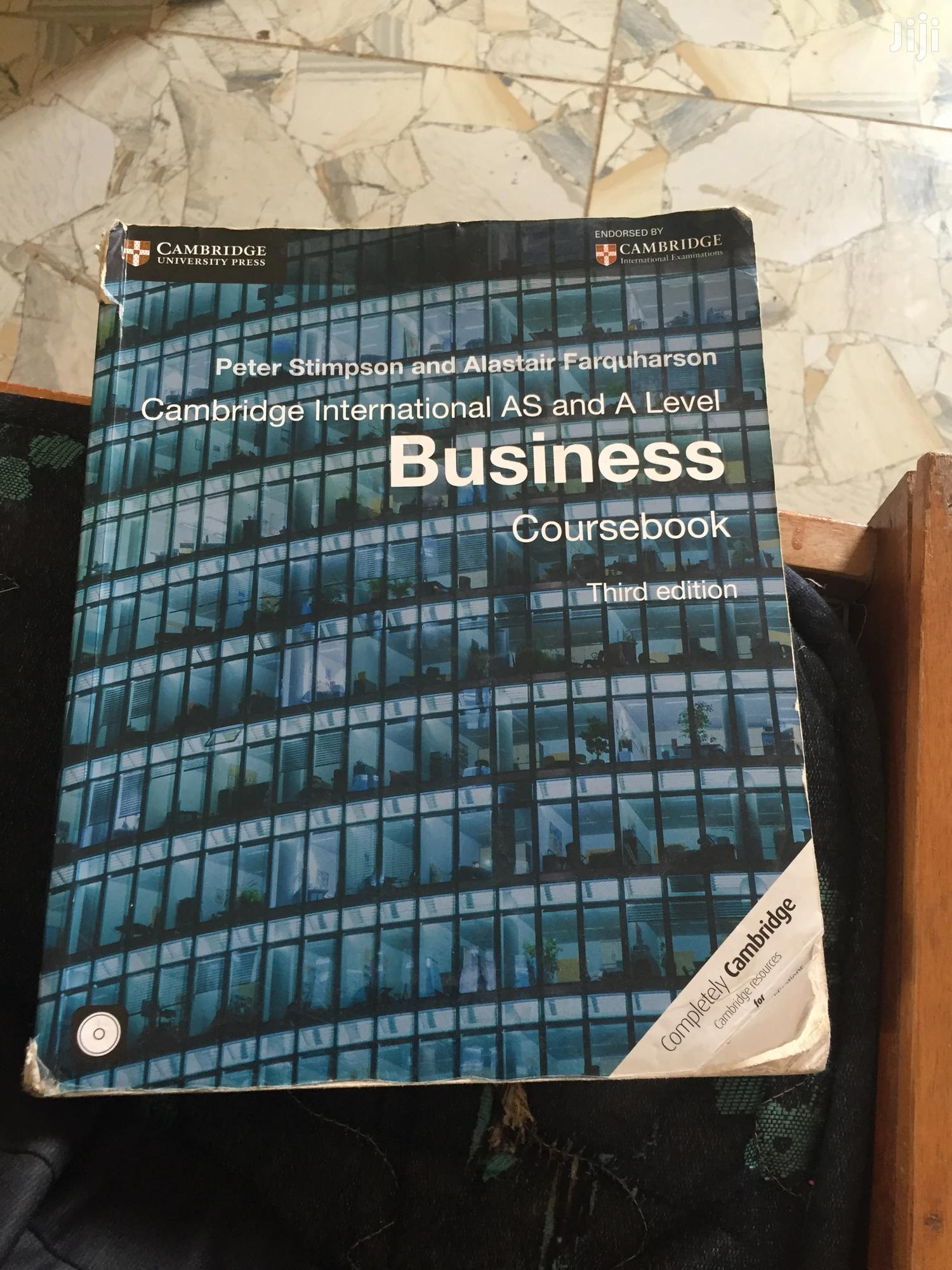 Archive: A Level Business Text Book