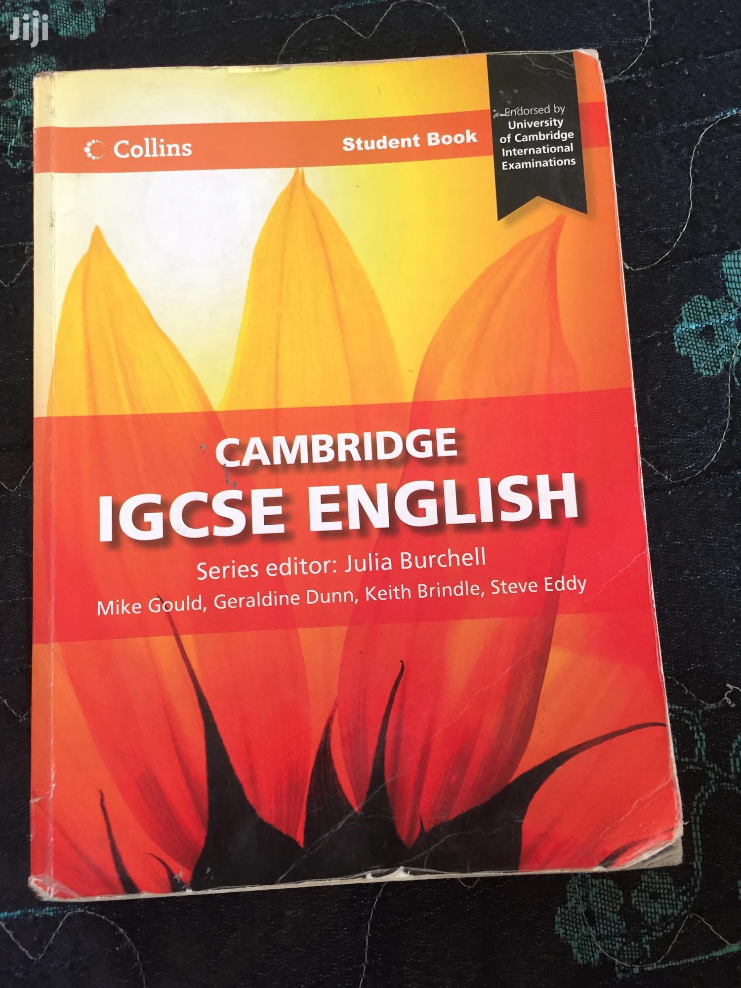 Archive: IGCSE English Textbook