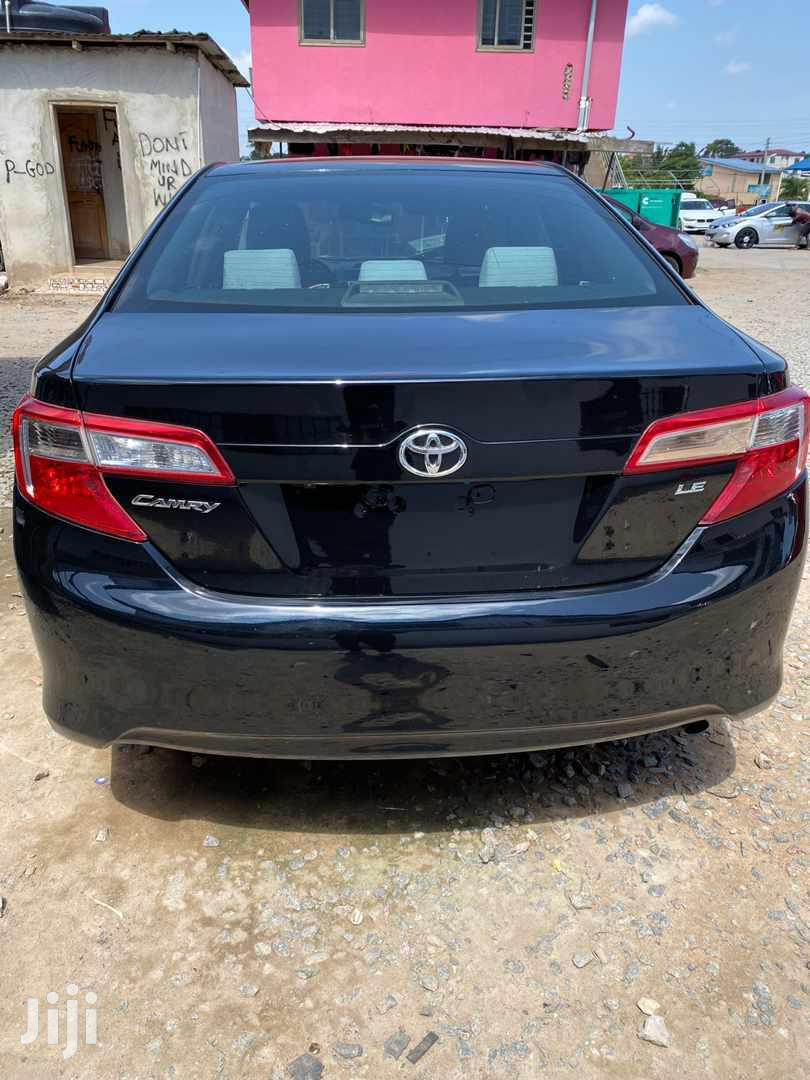 Archive: Toyota Camry 2014 Black