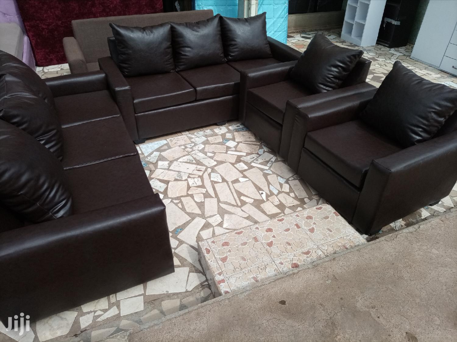 Quality Leather Sofa Set Free Delivery