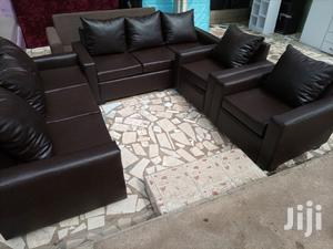 Quality Leather Sofa Set Free Delivery | Furniture for sale in Greater Accra, Tesano