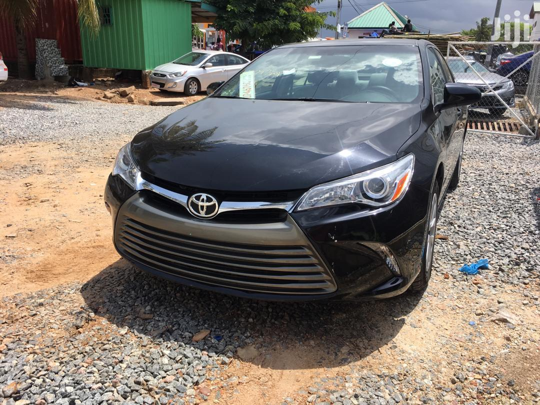 Toyota Camry 2017 Black