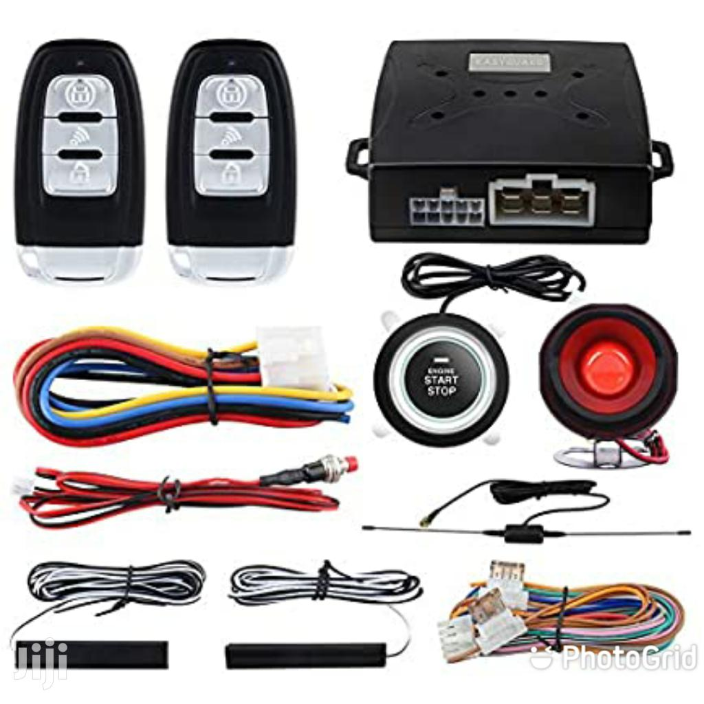 Car Alarm With Remote Start N Push to Start Systems /PKE Sys