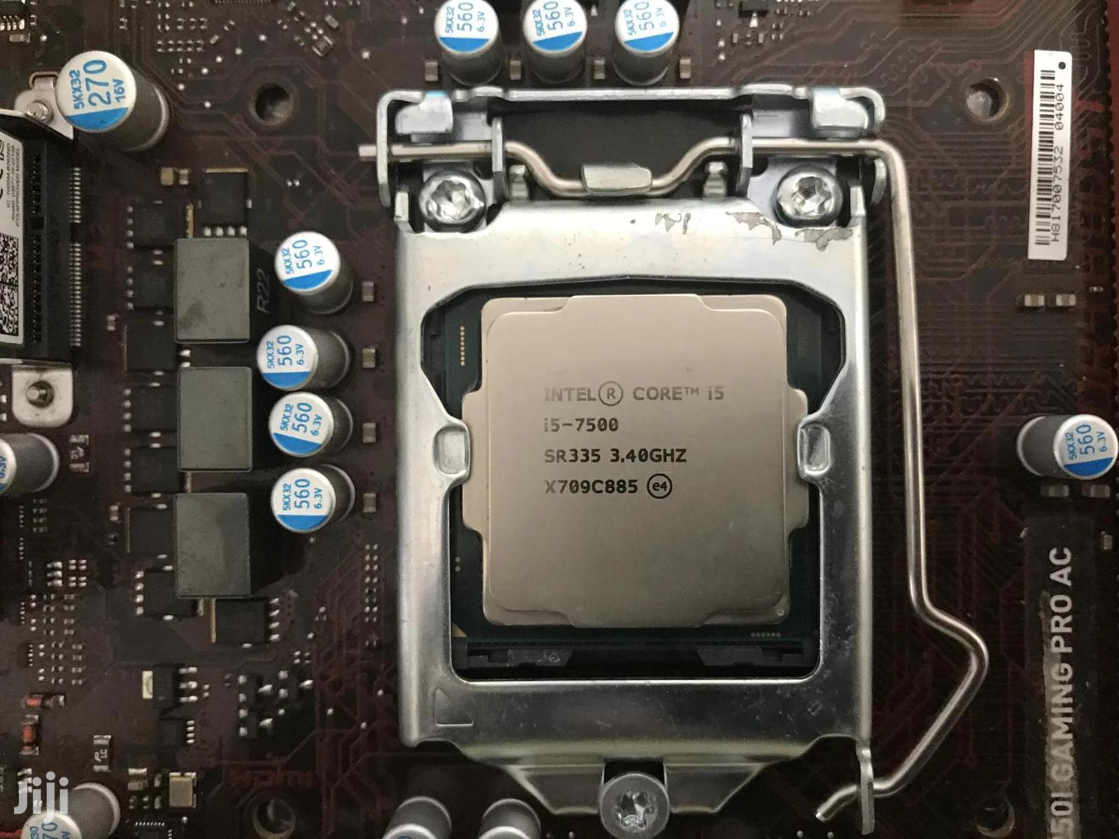 Archive: Intel Core I5-7500 Processor