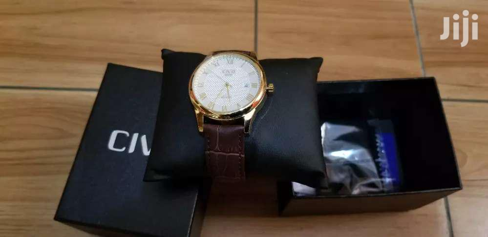 Mens Watches Genuine Leather Band   Watches for sale in Tesano, Greater Accra, Ghana