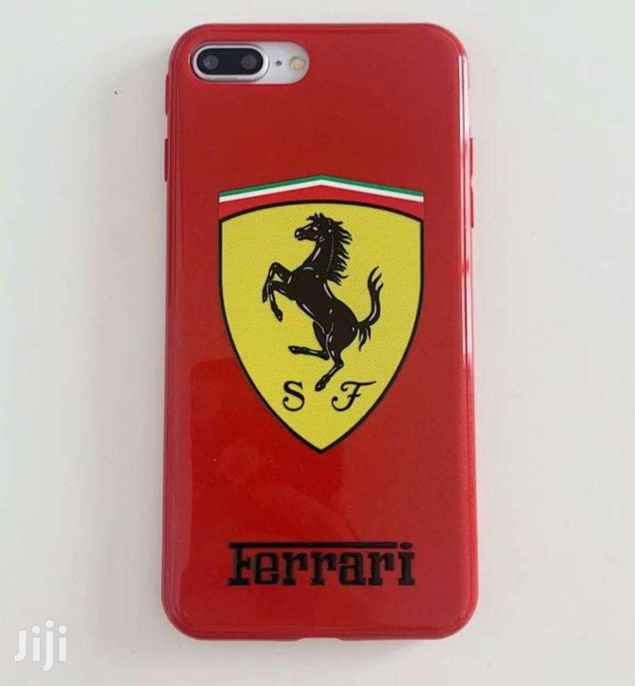 Ferrari iPhone Case For iPhone Xsmax Xr Xs X 8plus 7plus 8 7   Accessories for Mobile Phones & Tablets for sale in Odorkor, Greater Accra, Ghana