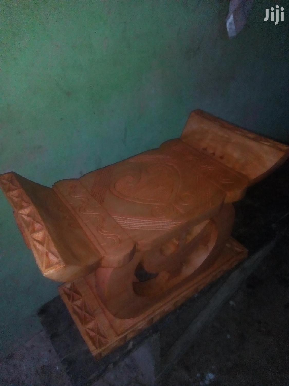 Sankofa Traditional Stool | Arts & Crafts for sale in Akuapim South, Eastern Region, Ghana