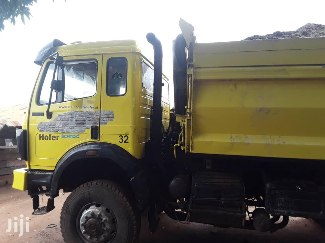 Strong Benz Truck in a Very Good Condition