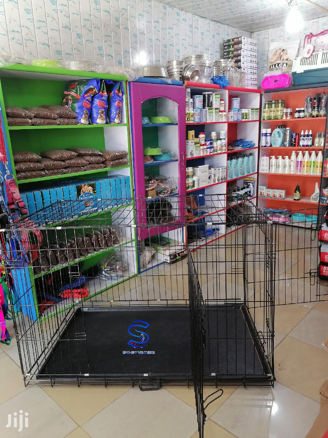 48inch Metal Cage For Dogs | Pet's Accessories for sale in Accra Metropolitan, Greater Accra, Ghana