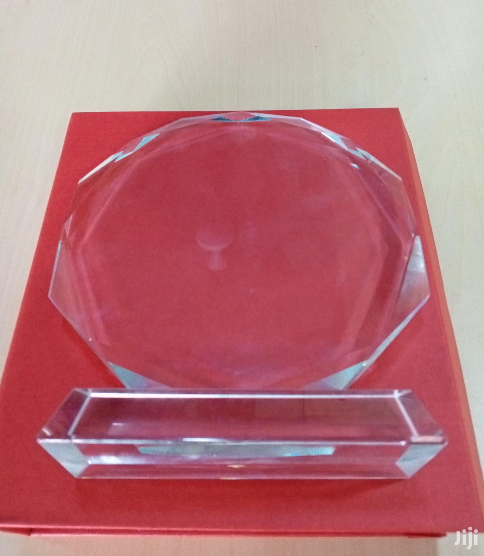 Crstal Award Plaque