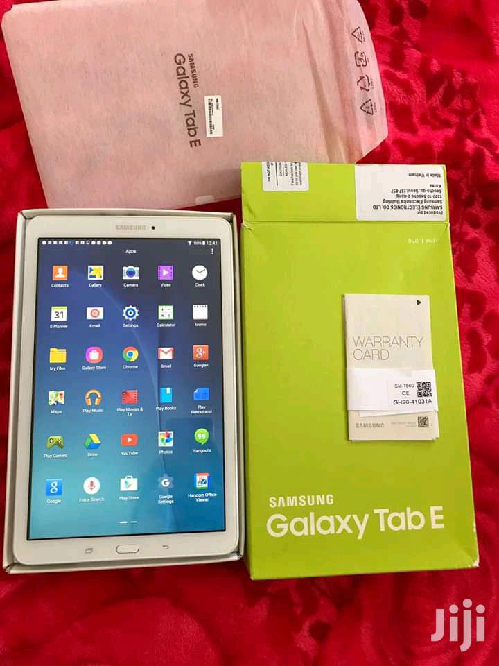 Archive: New Samsung Galaxy Tab E 8.0 16 GB White
