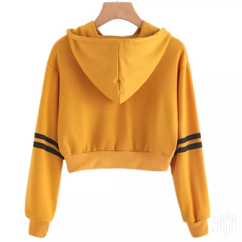 Crop Top Hoodie | Clothing for sale in Adenta Municipal, Greater Accra, Ghana