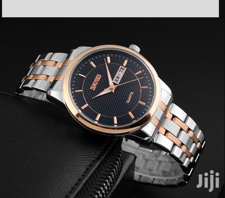 Archive: SKMEI Brand Luxury Stainless Steel Men Quartz Watch