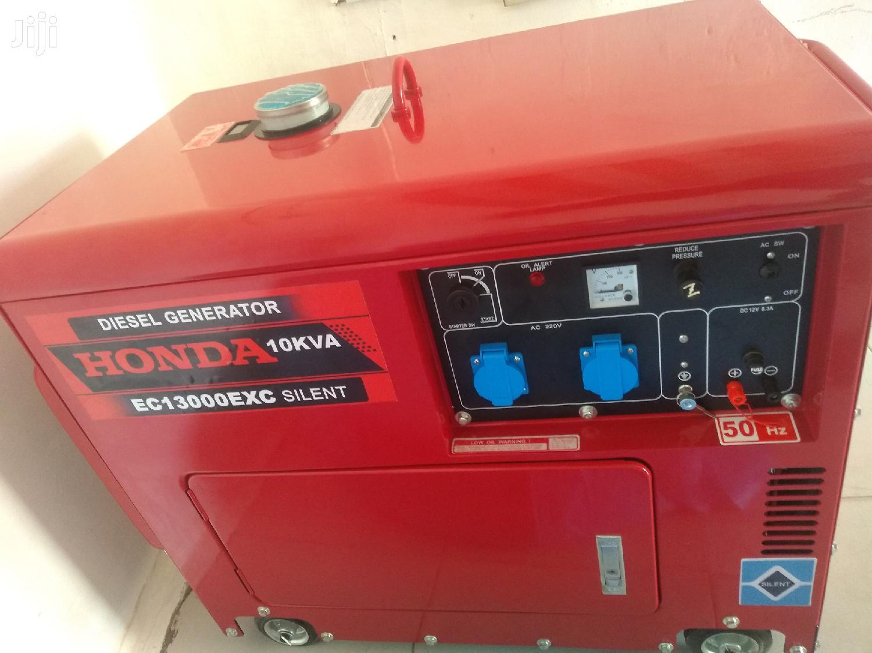 HONDA 10kva DIESEL Silent Keystart@New Generators