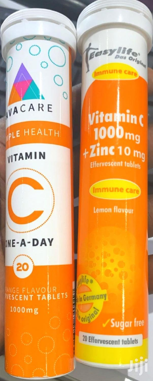 Vitamin C + Zinc | Vitamins & Supplements for sale in Roman Ridge, Greater Accra, Ghana