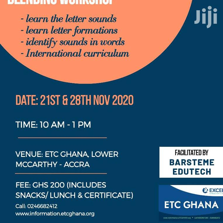Archive: Jolly Phonics and Curriculum Blending Workshop