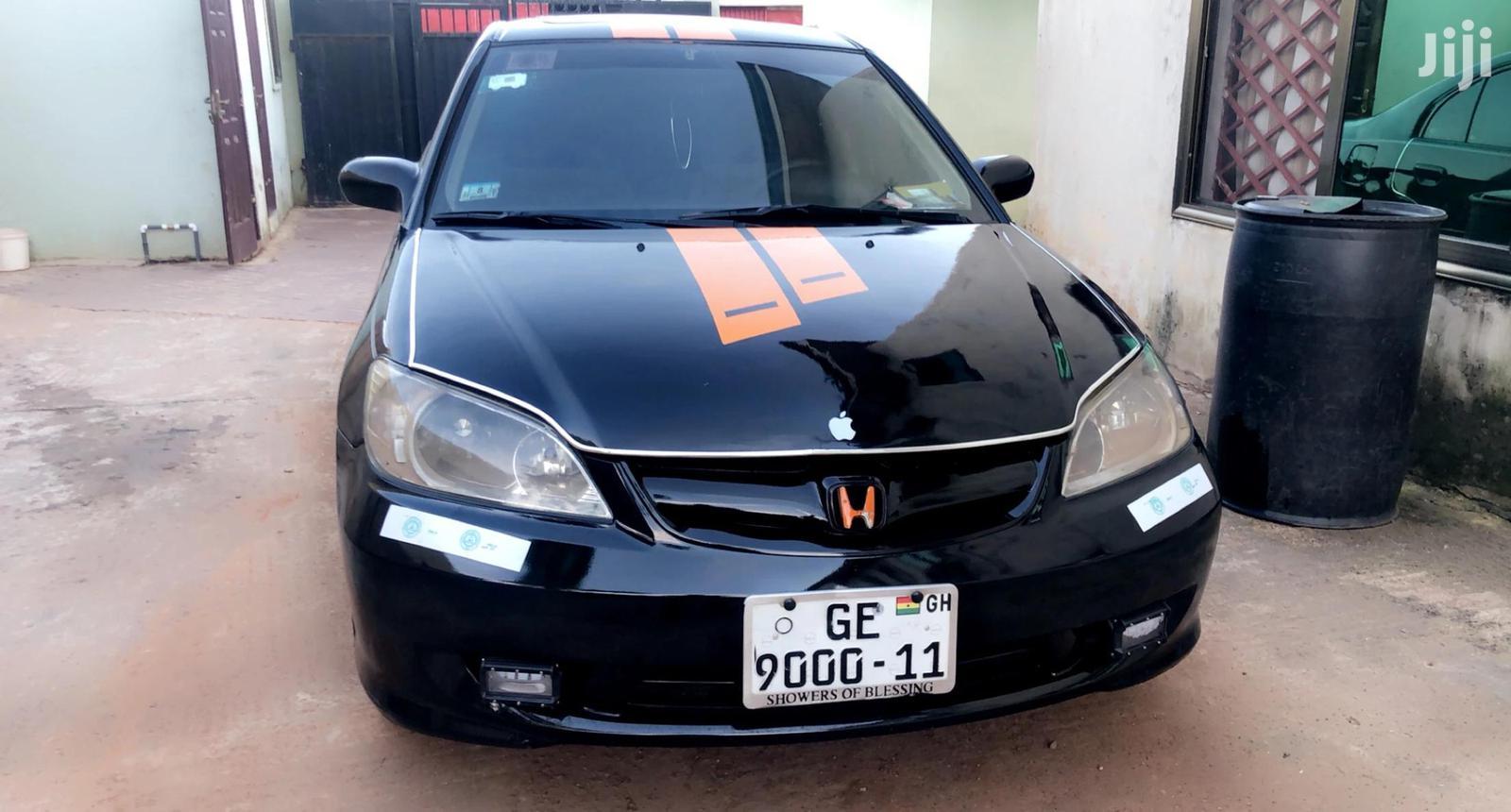 Honda Civic 2005 1.6i Sport Black | Cars for sale in Adenta Municipal, Greater Accra, Ghana