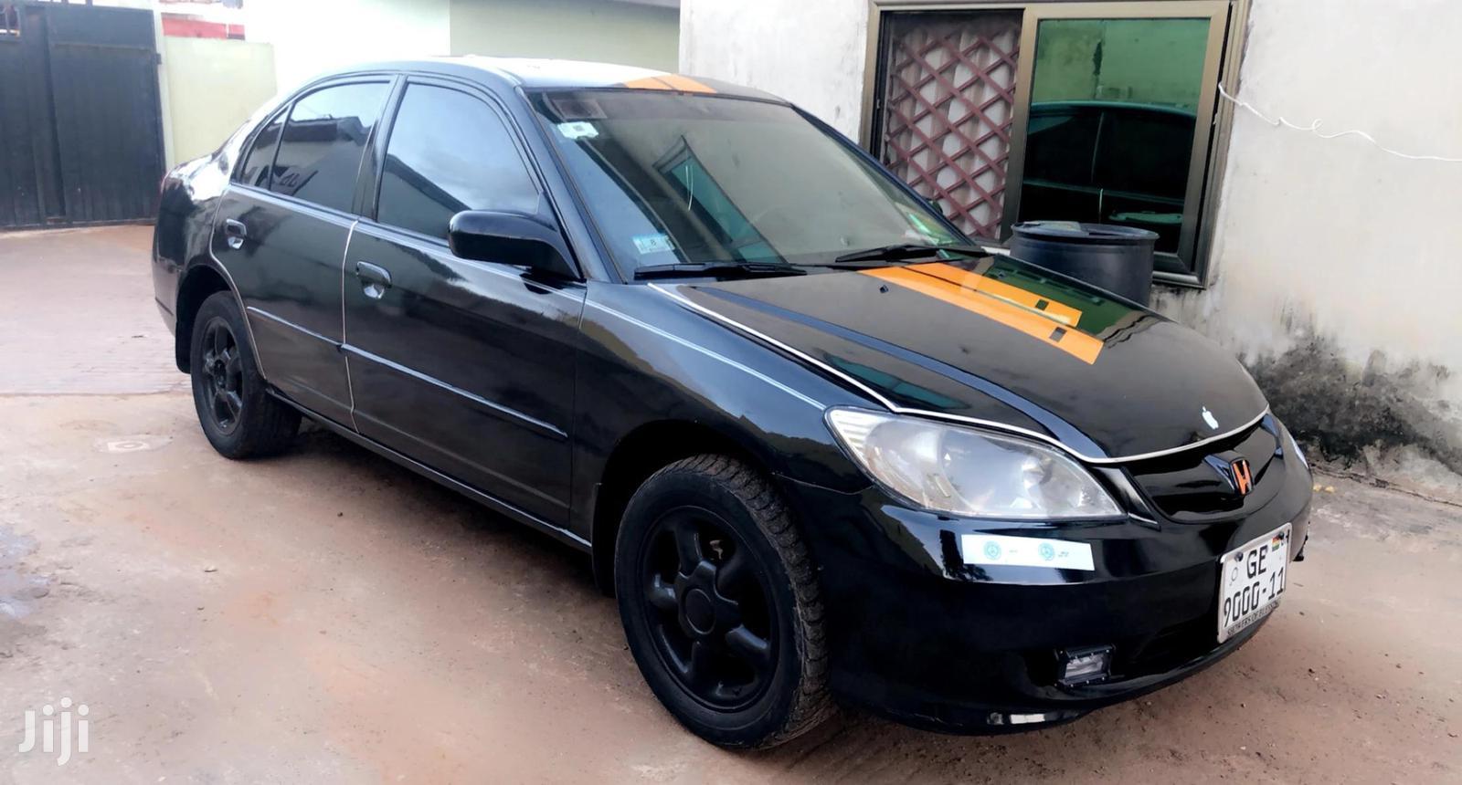 Honda Civic 2005 1.6i Sport Black