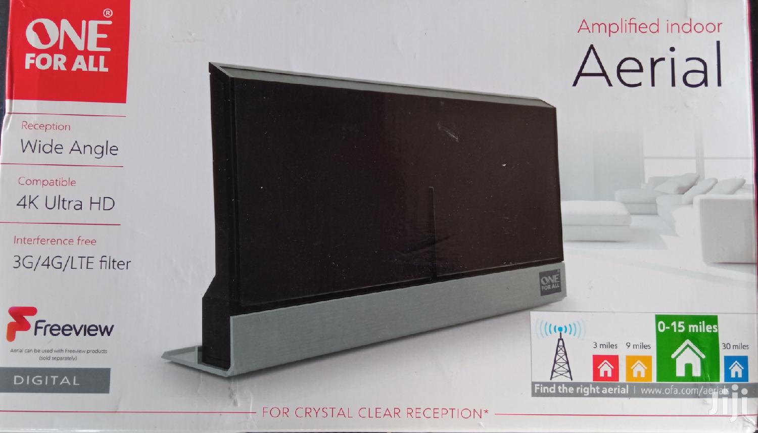 Freeview Amplified Indoor Aerial