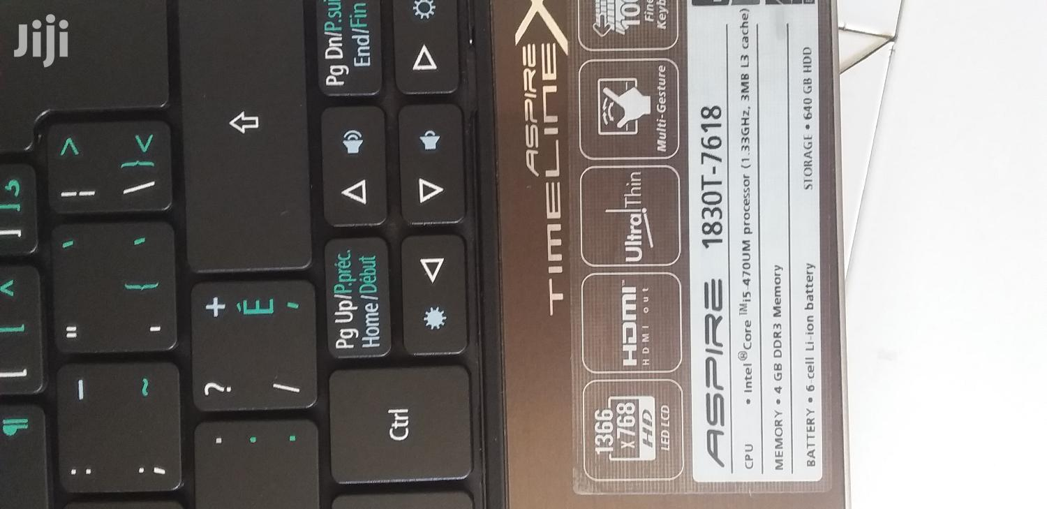 Archive: Laptop Acer 4GB Intel Core I5 HDD 640GB