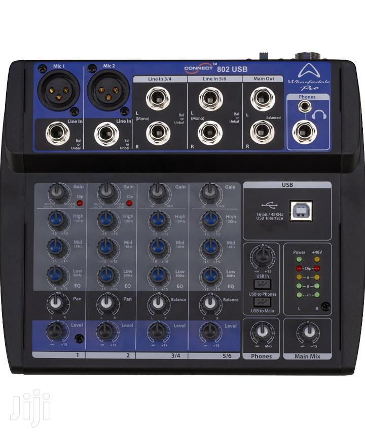 Sound Card Mixer Wharfedale Connect 802 USB   Audio & Music Equipment for sale in Cantonments, Greater Accra, Ghana
