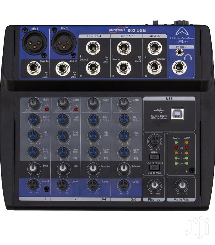 Sound Card Mixer Wharfedale Connect 802 USB