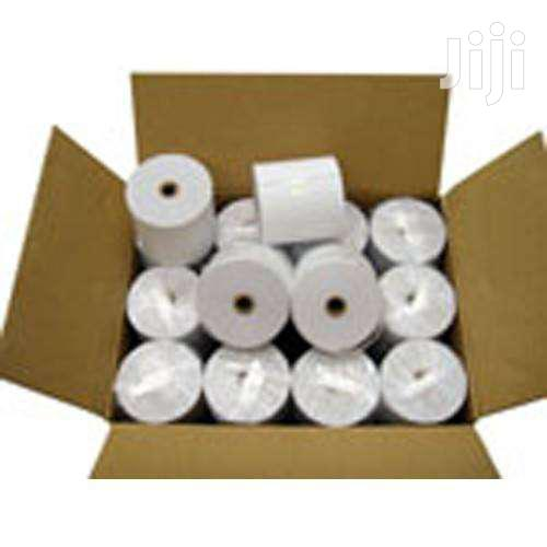 80mm X 80mm Thermal Paper Roll | Stationery for sale in Achimota, Greater Accra, Ghana