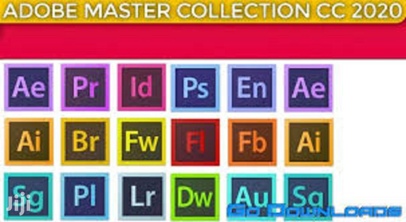 Adobe Master Collection 2020 | Software for sale in Alajo, Greater Accra, Ghana