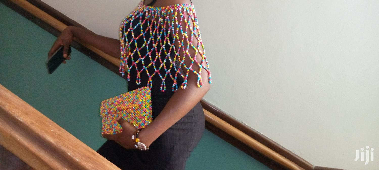 Archive: Beaded Blouse And Purse