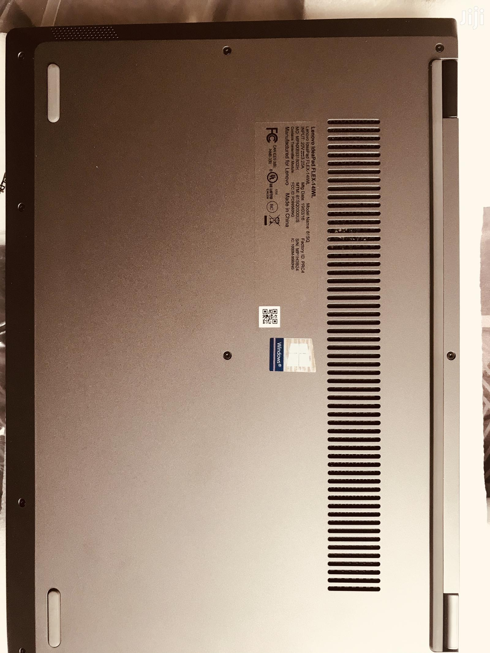 Archive: New Laptop Lenovo IdeaPad Flex 14 8GB Intel Core i5 256GB