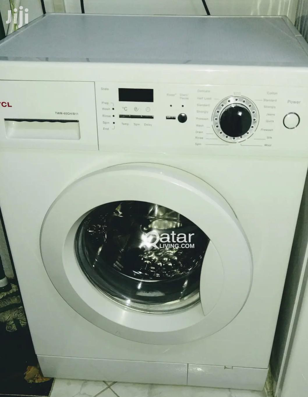 Awesome TCL 6kg Front Load Fully Automatic Washing Machine