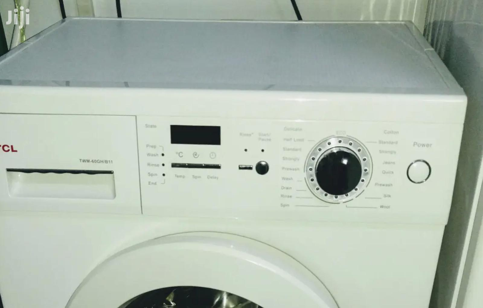 Awesome TCL 6kg Front Load Fully Automatic Washing Machine | Home Appliances for sale in Accra Metropolitan, Greater Accra, Ghana