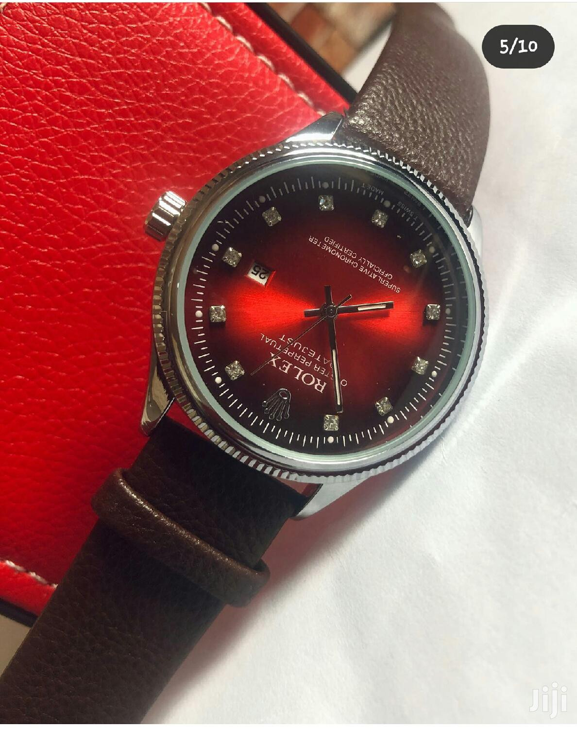 Archive: Rolex Leather Watch