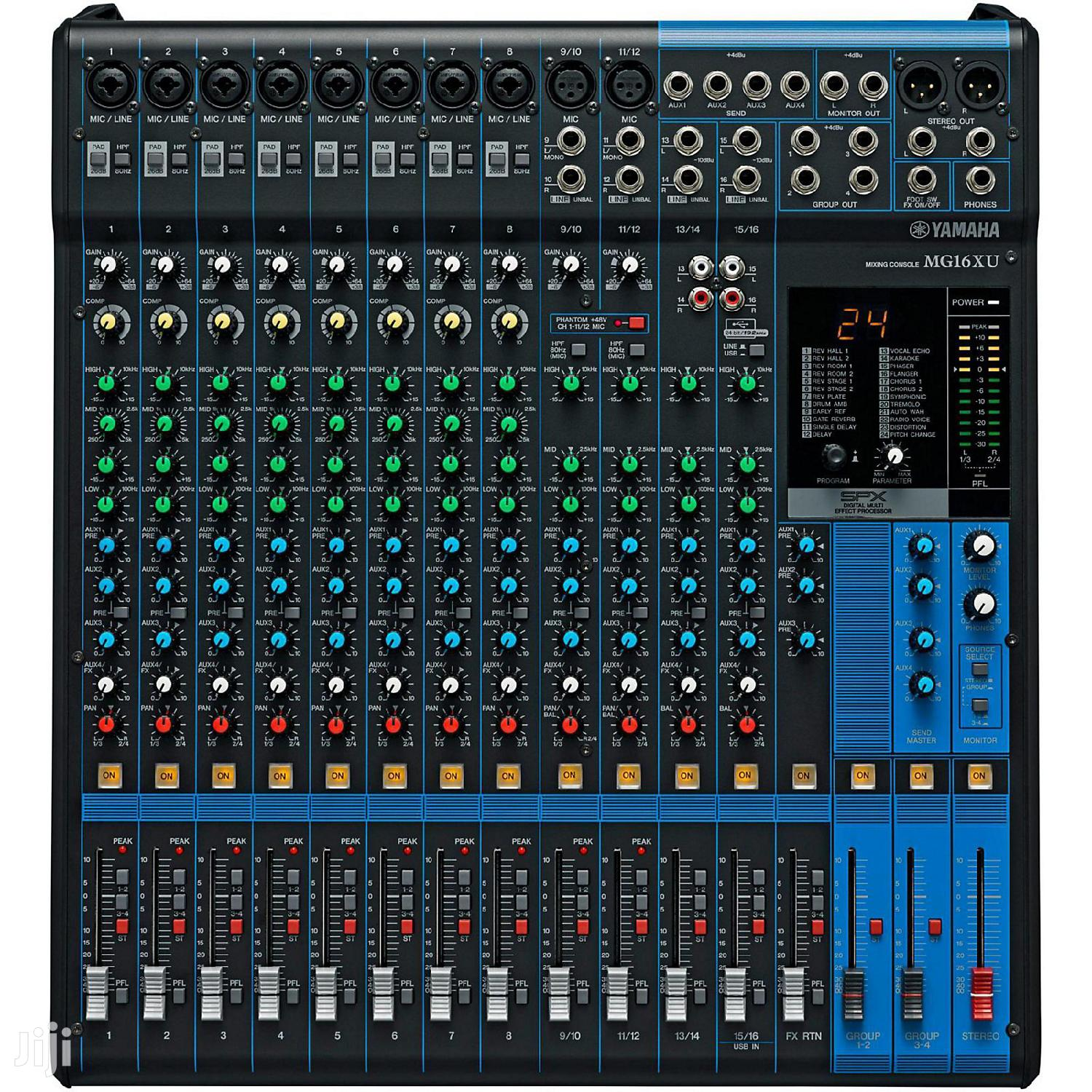 16 Channel Yamaha Mixer Console   Audio & Music Equipment for sale in Adabraka, Greater Accra, Ghana