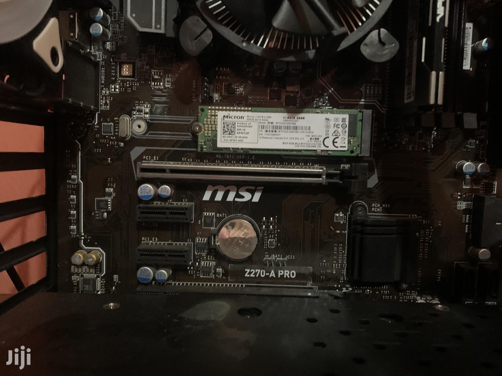 Archive: Msi Z270-A Pro Motherboard And Intel Core I5 6500 Processor