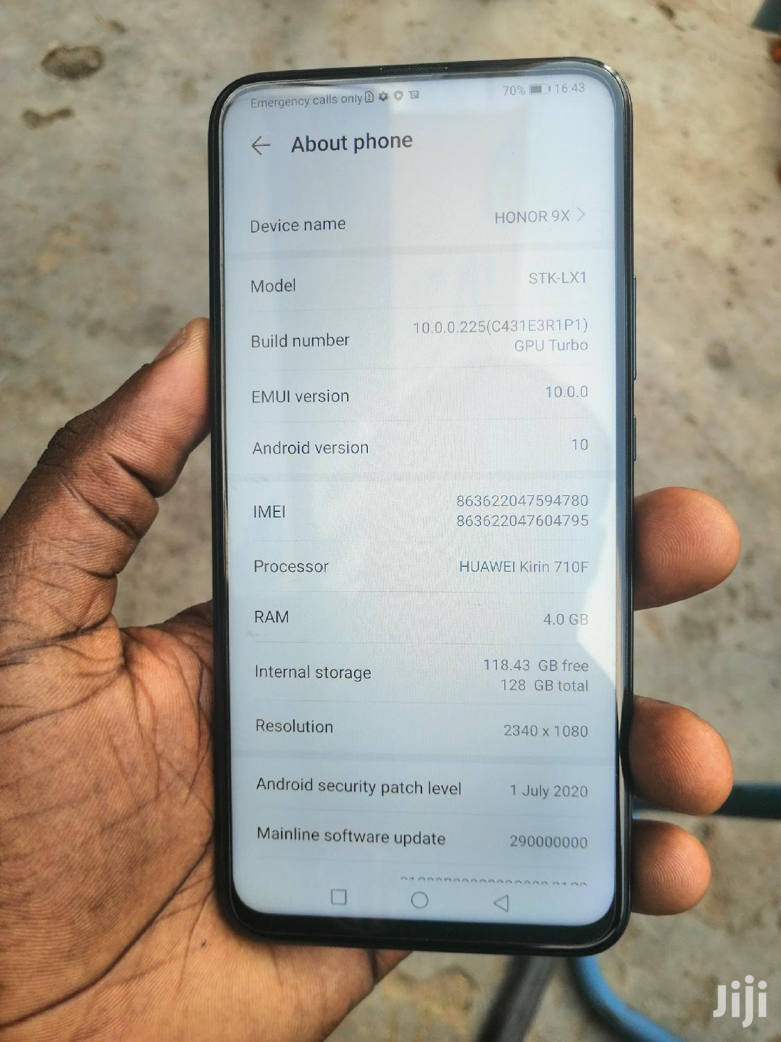 Huawei Honor 9X 128 GB Black | Mobile Phones for sale in Achimota, Greater Accra, Ghana